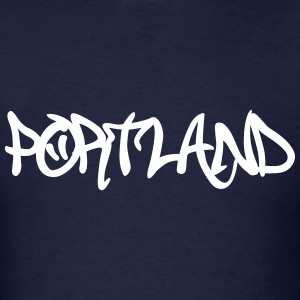 Portland Graffiti T-Shirts - Men's T-Shirt