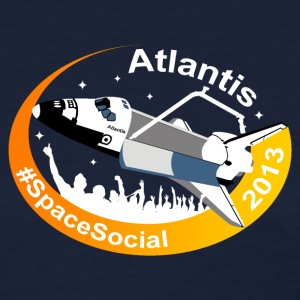 Atlantis Space Social (Simple) Women's T-Shirts - Women's T-Shirt