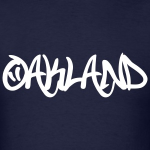 Oakland Graffiti T-Shirts - Men's T-Shirt