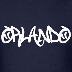 Orlando Graffiti T-Shirts - Men's T-Shirt