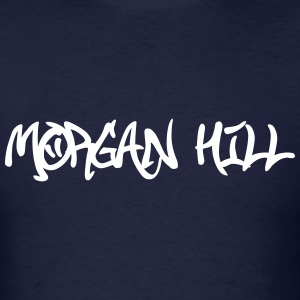 Morgan Hill Graffiti T-Shirts - Men's T-Shirt