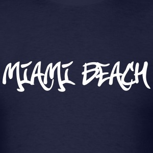 Miami Beach Graffiti T-Shirts - Men's T-Shirt