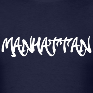 Manhattan Graffiti T-Shirts - Men's T-Shirt