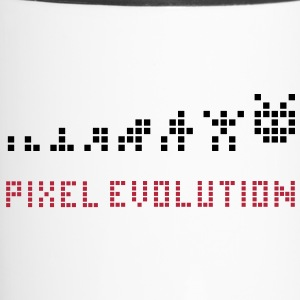 Pixel Evolution Bottles & Mugs - Travel Mug