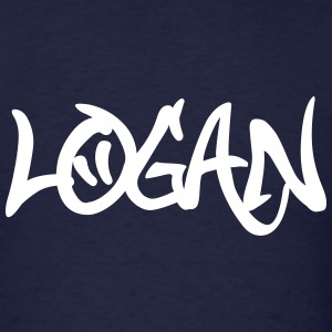 Logan Graffiti T-Shirts - Men's T-Shirt