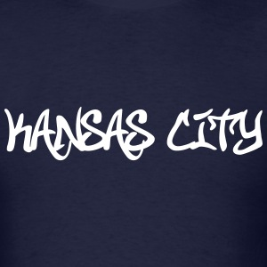 Kansas City Graffiti T-Shirts - Men's T-Shirt