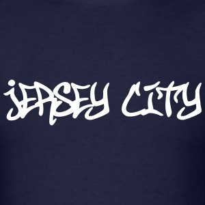 Jersey City Graffiti T-Shirts - Men's T-Shirt