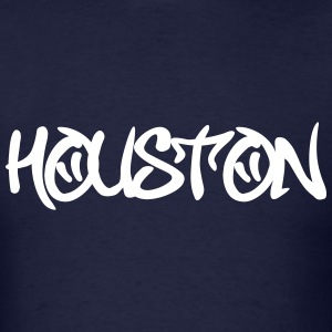 Houston Graffiti T-Shirts - Men's T-Shirt