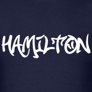 Hamilton Graffiti T-Shirts - Men's T-Shirt