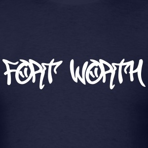 Fort Worth Graffiti T-Shirts - Men's T-Shirt