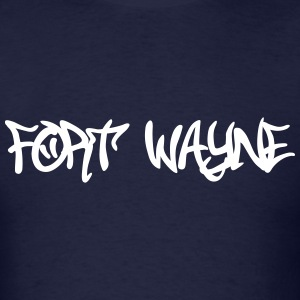 Fort Wayne Graffiti T-Shirts - Men's T-Shirt
