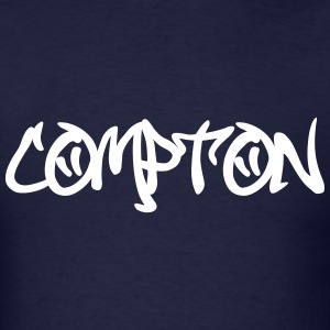 Compton Graffiti T-Shirts - Men's T-Shirt