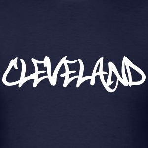 Cleveland Graffiti T-Shirts - Men's T-Shirt