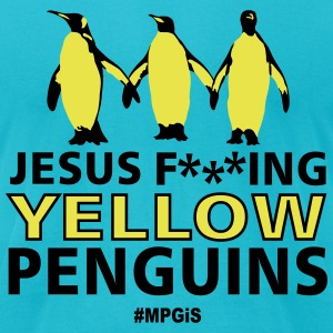 Most Popular Girls Penguins T-Shirts - Men's T-Shirt by American Apparel
