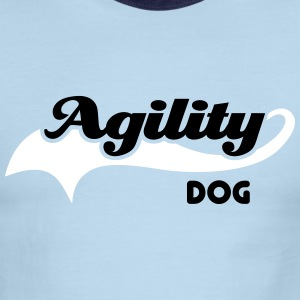 Agility Dog T-Shirts - Men's Ringer T-Shirt