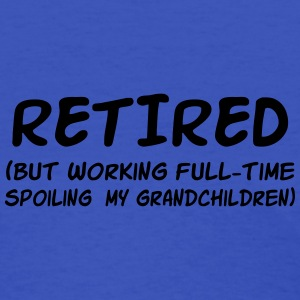 Retired but Spoiling my grandchildren Women's T-Shirts - Women's T-Shirt