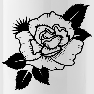 A Drawn Rose Bottles & Mugs - Water Bottle