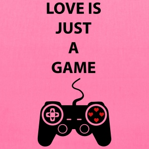 Love is just a game 2c Bags & backpacks - Tote Bag
