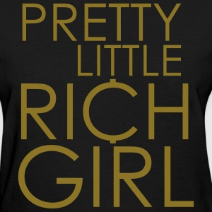 Pretty Little Rich Girl Women's T-Shirts - Women's T-Shirt