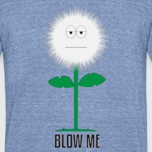 Dandelion Head - Unisex Tri-Blend T-Shirt by American Apparel