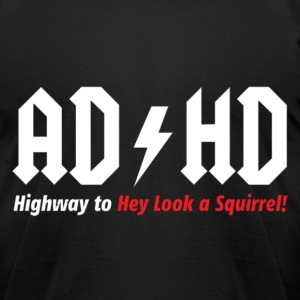 AD HD T-Shirts - Men's T-Shirt by American Apparel