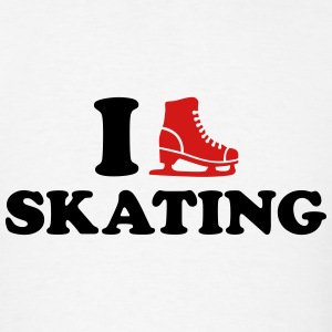 I love Skating T-Shirts - Men's T-Shirt