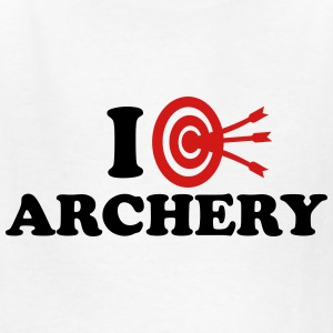 I love Archery Kids' Shirts - Kids' T-Shirt