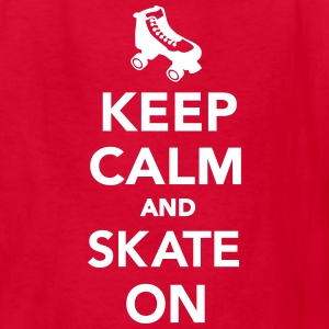 Keep calm and Skate on Kids' Shirts - Kids' T-Shirt