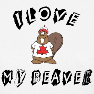 I Love My Beaver T-Shirt - Women's T-Shirt