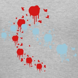 Color Splash Paintball Women's T-Shirts - Women's V-Neck T-Shirt