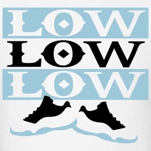 Low low low jordan 11 T-Shirts - Men's T-Shirt