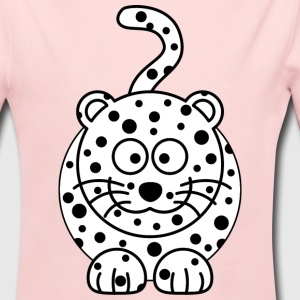 Leopard Cartoon - Long Sleeve Baby Bodysuit