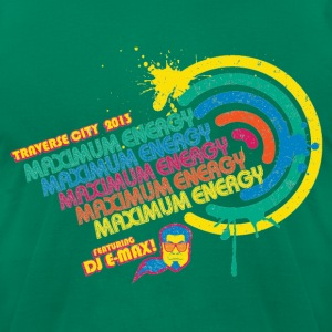 Maximum Energy feat. DJ E-Max T-Shirts - Men's T-Shirt by American Apparel