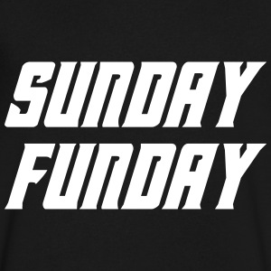 Sunday Funday T-Shirts - Men's V-Neck T-Shirt by Canvas
