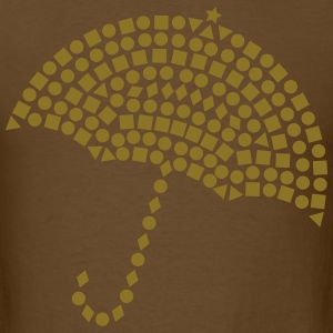 Studded Umbrella T-Shirts - Men's T-Shirt