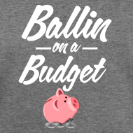 Design ~ Ballin Ona Budget Wide Neck Sweatshirt