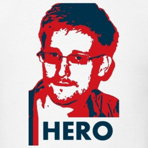 Snowden Hero - Men's T-Shirt
