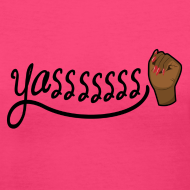 Design ~ Yasssssss V-Neck T-Shirt