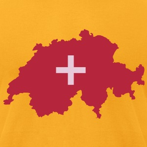 Switzerland - Men's T-Shirt by American Apparel