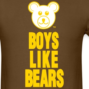 BOYS LIKE BEARS - Men's T-Shirt