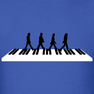 Walk Across the Piano - Men's T-Shirt