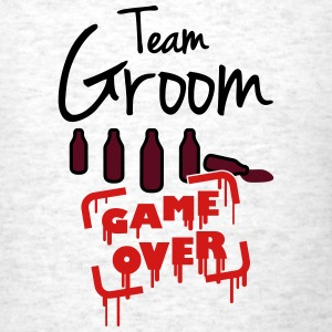 Team Groom Game Over T-Shirts - Men's T-Shirt