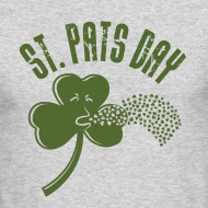 Design ~ Puking Shamrock (white)
