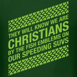 We Are Christians - Men's T-Shirt