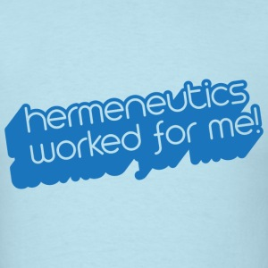 Hermeneutics - Men's T-Shirt