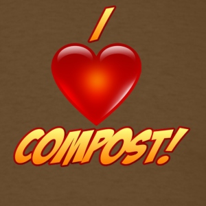 iheartcompost T-Shirts - Men's T-Shirt