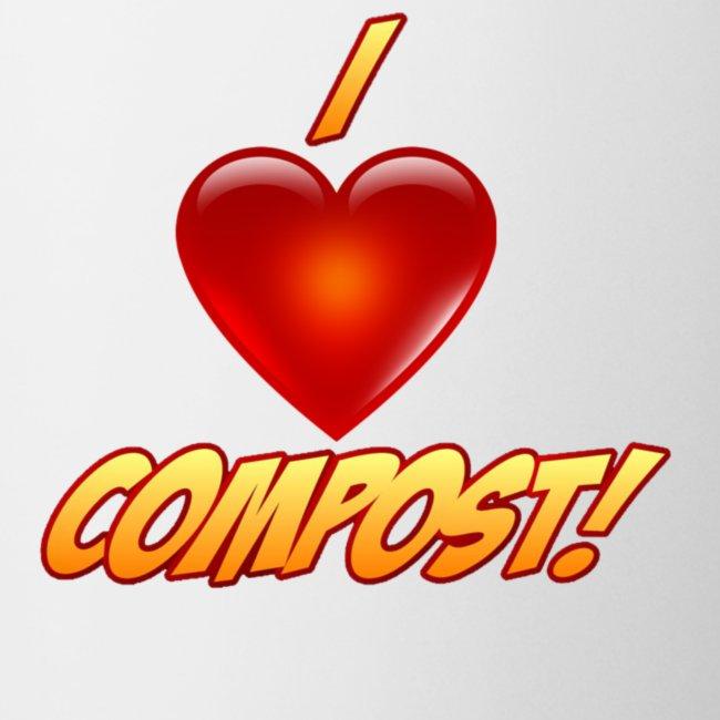 I Heart Compost! Coffee