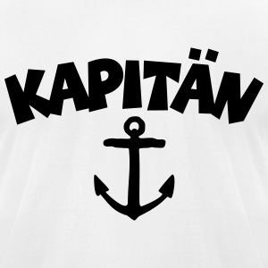 Kapitän Anchor T-Shirts - Men's T-Shirt by American Apparel