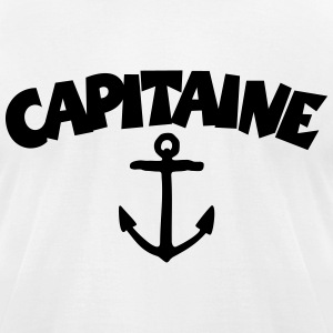Capitaine Anchor T-Shirts - Men's T-Shirt by American Apparel
