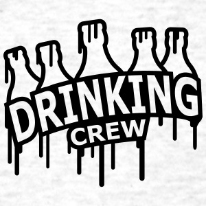Drinking Crew Graffiti T-Shirts - Men's T-Shirt